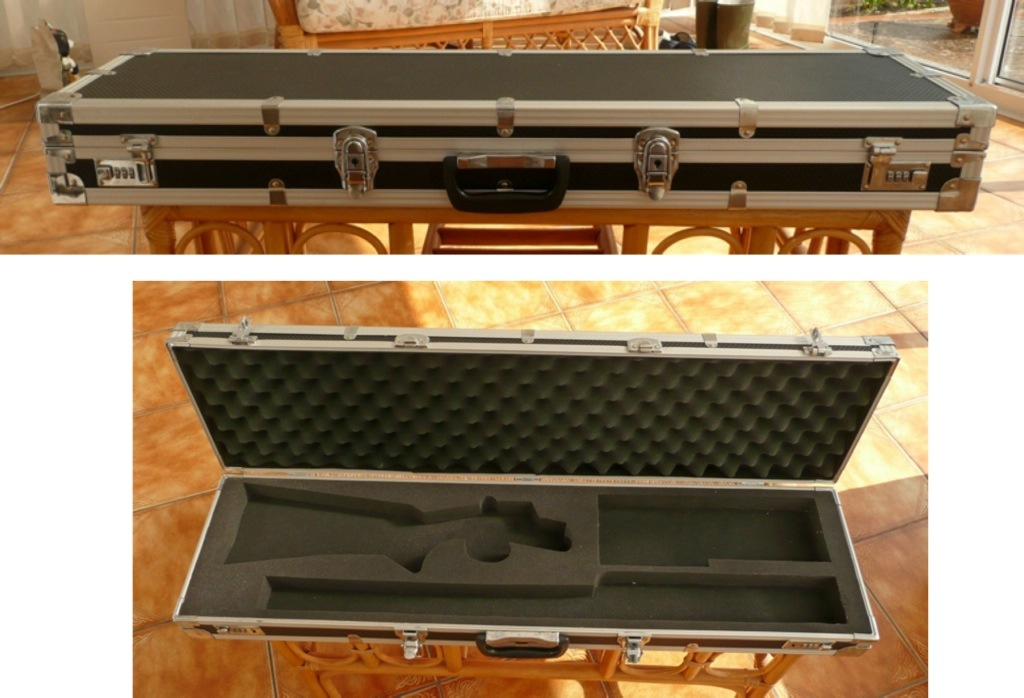 Airline approved shotgun case